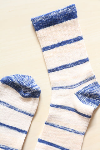 Blue Stripe Socks