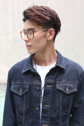 Tortoise Studs Glasses