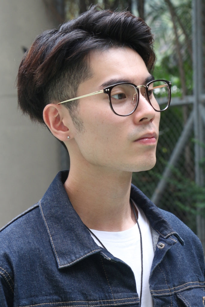 Brown Studs Glasses