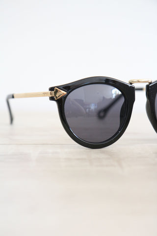 Shalex Black Sunglasses