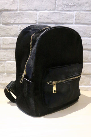 Velvet Backpack - Black