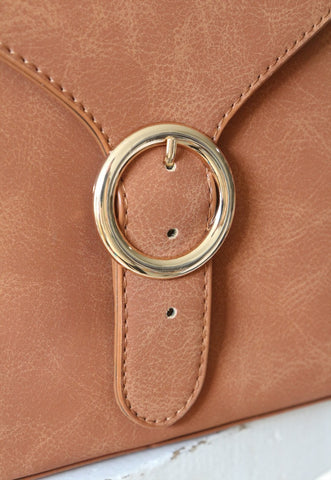 O-Ring Buckle Shoulder Bag