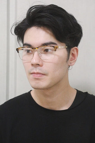 Tortoise Rectangle Glasses