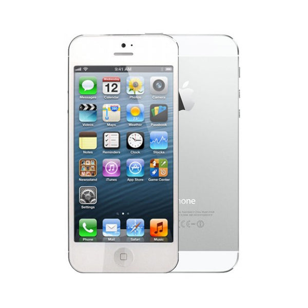 Apple iPhone 5 16GB White and Silver