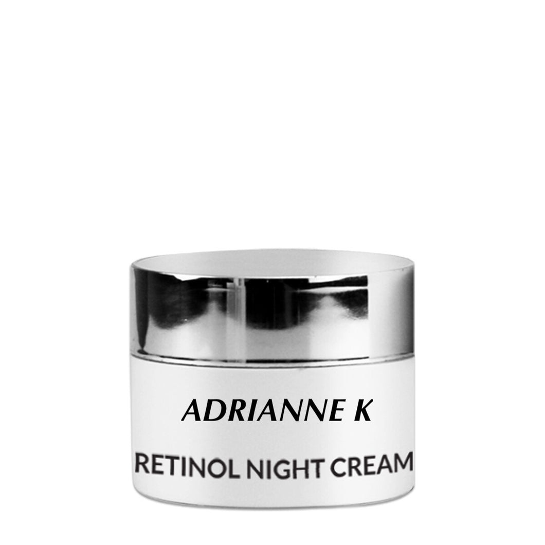 ADRIANNE K,  ANTI-AGING RETINOL NIGHT CREAM WITH ORGANIC ESSENTIAL OILS, 1 fl ( 30 mL)
