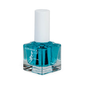 Blue Base! Clear Base Coat Treatment Nail Polish For Weak Nails, Helps with Nail Growth .51 fl oz. Made in USA