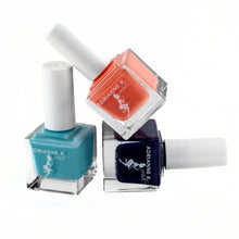 Load image into Gallery viewer, Bella Blue! Opaque Light Blue Nail Polish, .51 Fl Oz. Quick Dry. Shiny. Durable. Gel Effect