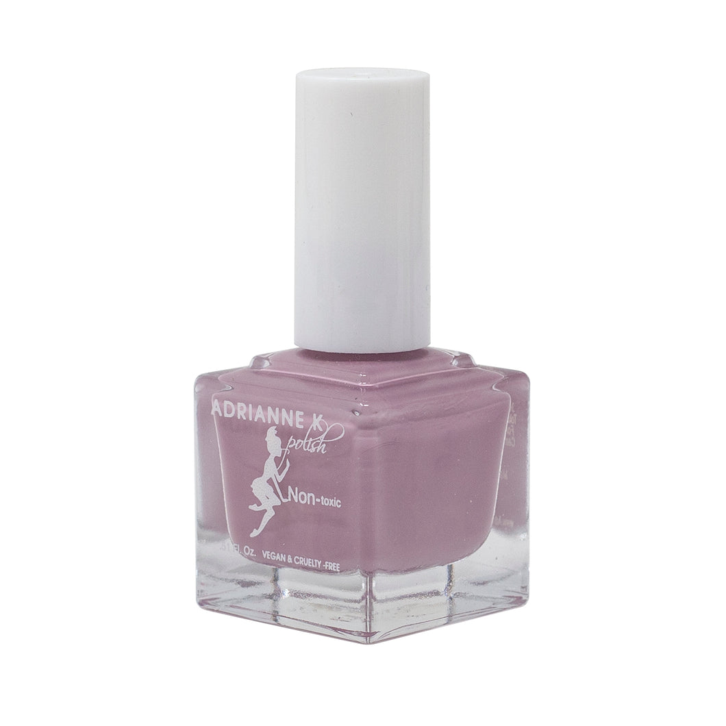 Paris! Glossy Cool Mauve Nail Polish, .51 Fl Oz. Opaque