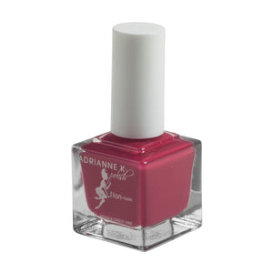 PASSION! RASPBERRY RED NAIL POLISH .51 FL OZ. GLOSSY. QUICK DRY.