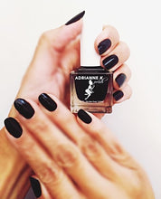 Load image into Gallery viewer, Noir! Glossy Jet Black Nail Polish. Quick Dry. Durable. Nontoxic. Vegan, .51 Fl Oz