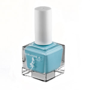 Bella Blue! Opaque Light Blue Nail Polish, .51 Fl Oz. Quick Dry. Shiny. Durable. Gel Effect
