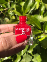 Load image into Gallery viewer, Your Hotness! Glossy True Red Nail Polish , .51 Fl. Oz., Quick Dry. High Shine. Gel Effect