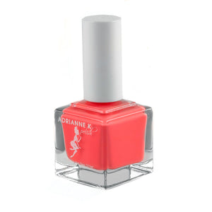 WILD ORANGE! BRIGHT ORANGE/PINK NAIL POLISH .51 FL. OZ. GLOSSY