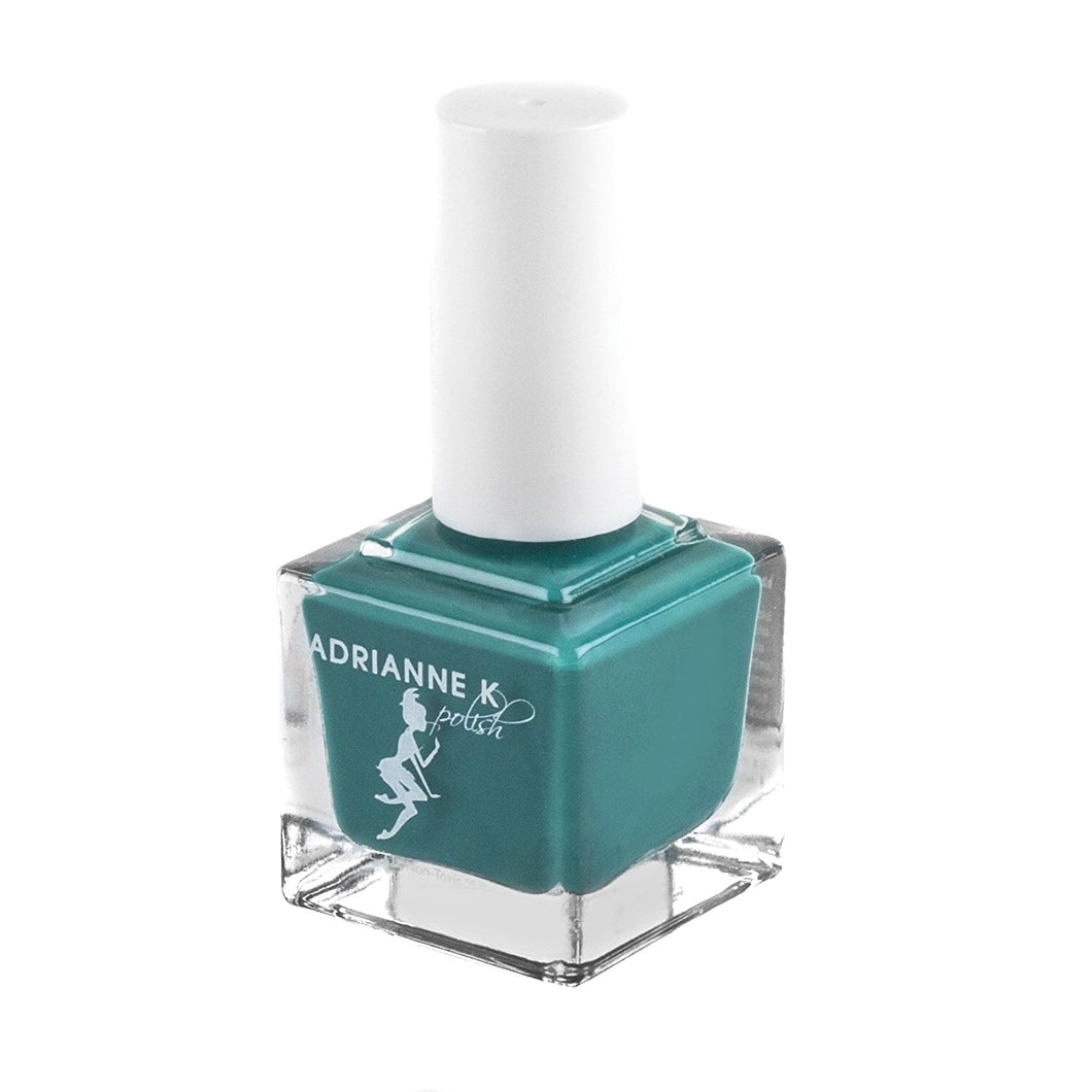 TIARA! SHINY EMERALD GREEN NAIL POLISH, VEGAN. CRUELTY-FREE. NONTOXIC, .51 FL OZ