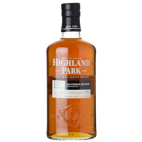 HIGHLAND PARK 13 YEAR CALIFORNIA EDITION SINGLE CASK - Wine & Spirits Delivery