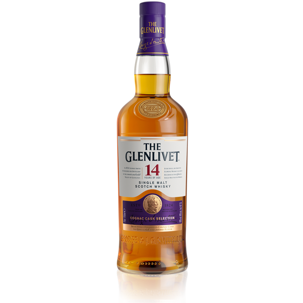 GLENLIVET 14 YEAR - Wine & Spirits Delivery