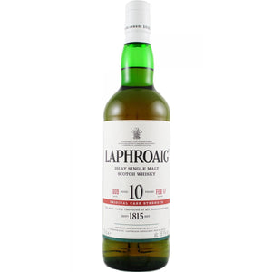 LAPHROAIG CASK STRENGTH BATCH 10 - Wine & Spirits Delivery
