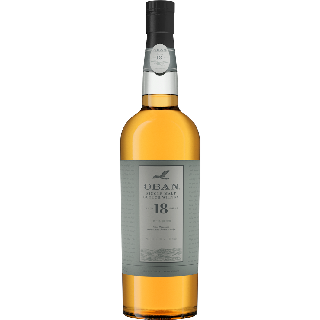 OBAN 18 YEARS OLD - Wine & Spirits Delivery