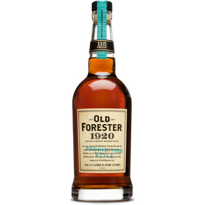 OLD FORESTER 1920 PROHIBITION STYLE - Wine & Spirits Delivery