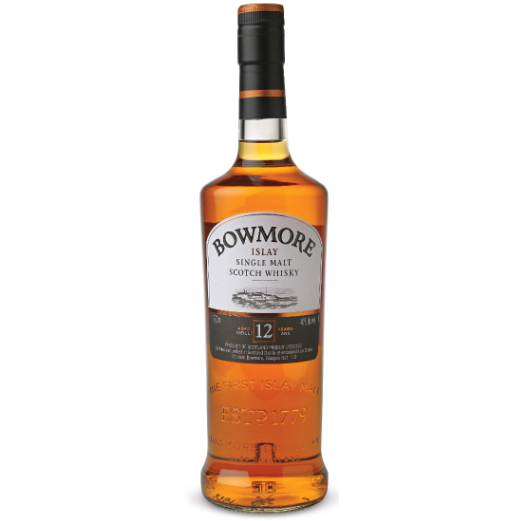 BOWMORE 12 YEAR ISLAY SINGLE MALT SCOTCH WHISKY - Wine & Spirits Delivery