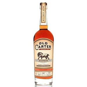 OLD CARTER STRAIGHT BOURBON WHISKEY BATCH 5 - Wine & Spirits Delivery