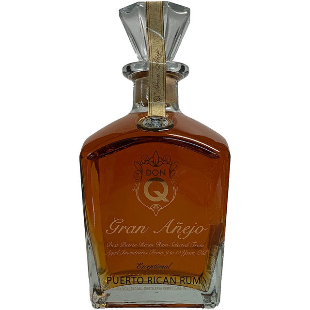 DON Q GRAN AÑEJO RUM - Wine & Spirits Delivery