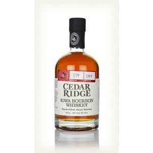 CEDAR RIDGE IOWA BOURBON WHISKEY - Wine & Spirits Delivery