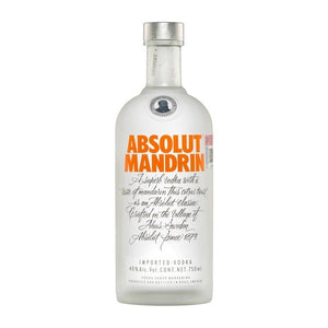 ABSOLUT MANDRIN VODKA - Wine & Spirits Delivery