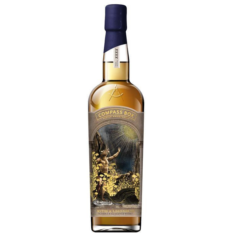 COMPASS BOX MYTHS & LEGENDS III - Wine & Spirits Delivery