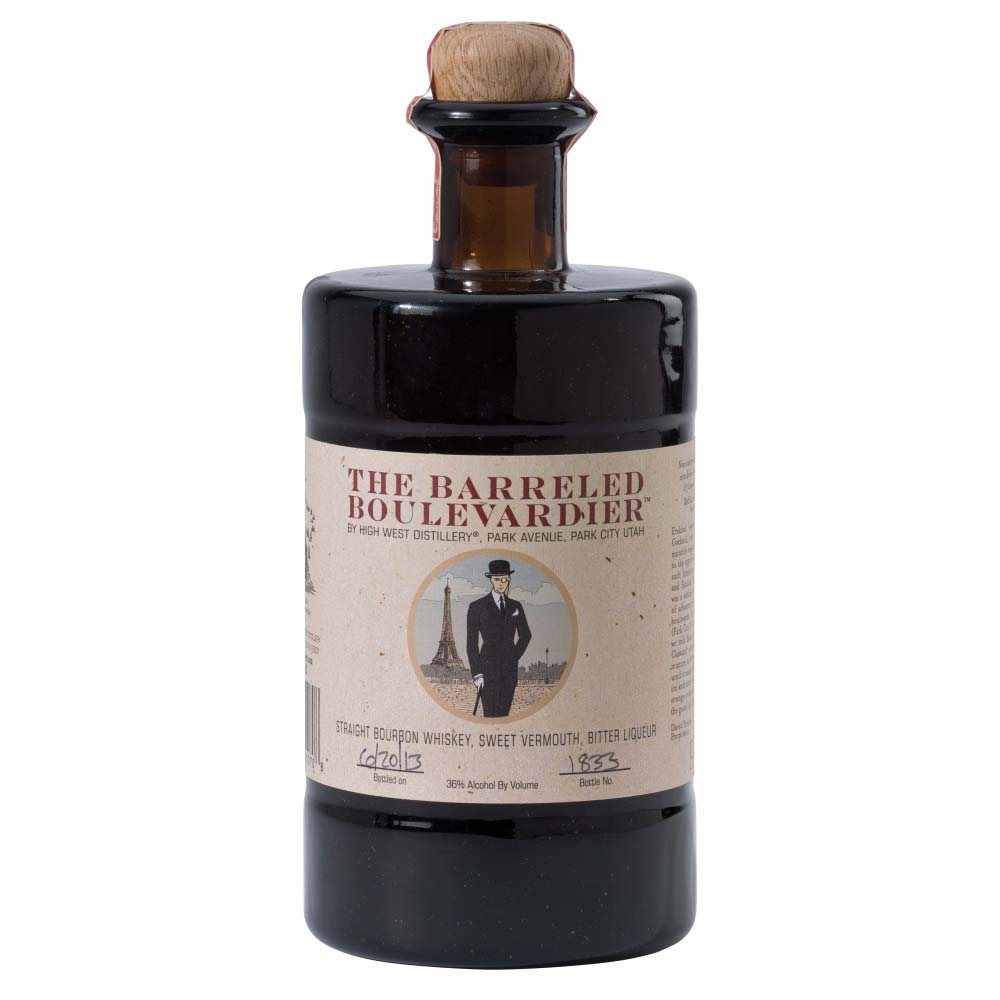 HIGH WEST THE BARRELED BOULEVARDIER - Wine & Spirits Delivery