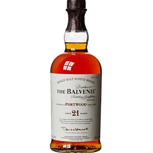 THE BALVENIE PORTWOOD – AGED 21 YEARS - Wine & Spirits Delivery