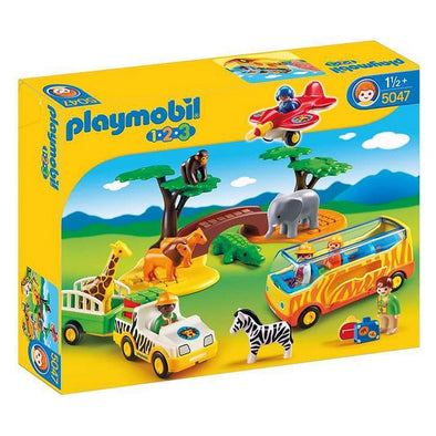 Playset 1.2.3 Safari Playmobil