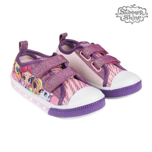 Sko med LED-lys Shimmer and Shine  Lilla