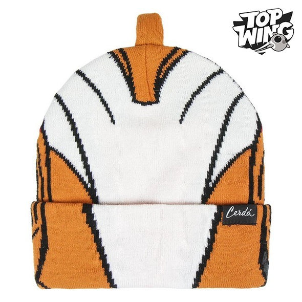 Hat Top Wing 74879 Orange