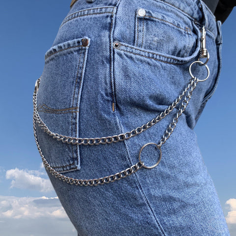 Double Twisted Jean Chain