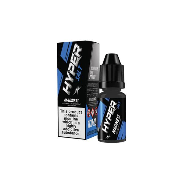 20mg Hyper Salt 10ml Nic Salts (50VG/50PG)