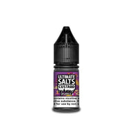 20MG Ultimate Puff Salts Custard 10ML Flavoured Nic Salts