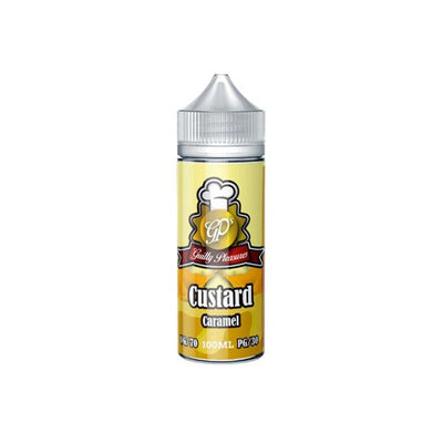 Guilty Pleasures Custard 0mg 100ml Shortfill (70VG/30PG)