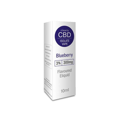 Clearly CBD 300mg CBD Isolate Vape Liquid 10ml