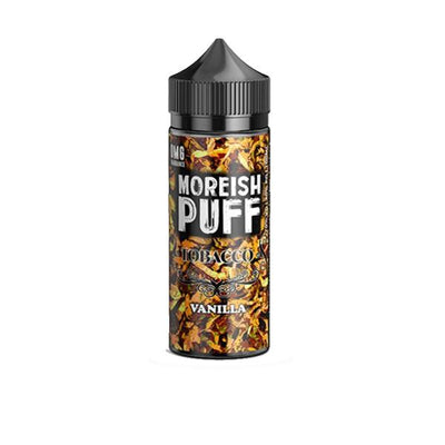 Moreish Puff Tobacco 0mg 100ml Shortfill (70VG/30PG)
