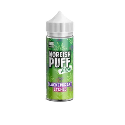 Moreish Puff Aloe 0mg 100ml Shortfill (70VG/30PG)