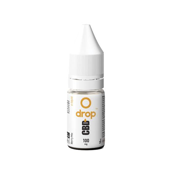CBD Drop Flavoured E-Liquid 100mg 10ml