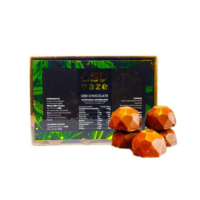 CBD Eaze 120mg Premium CBD Chocolate