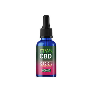 Fly CBD by Aztec 600mg CBD Oil Drops 30ml