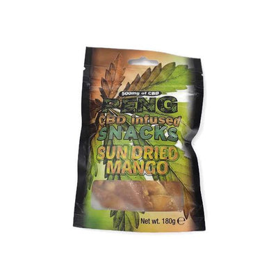 Peng CBD Infused Snacks-Sun Dried Mango