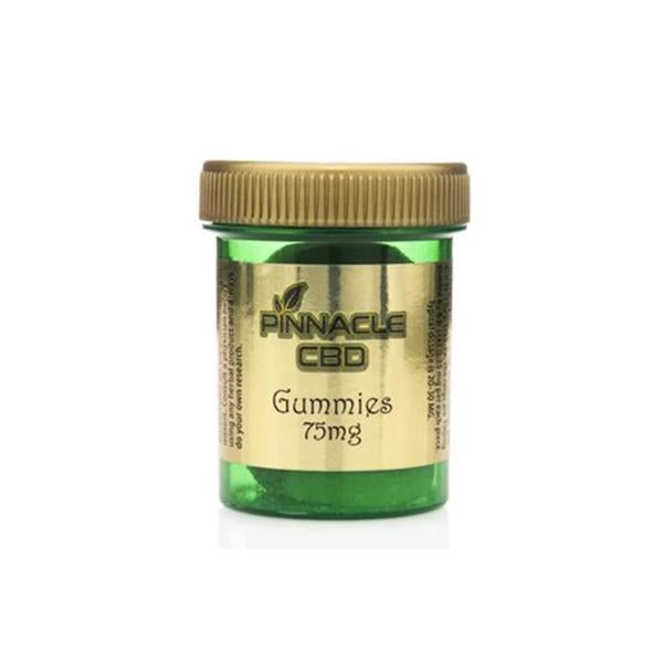 Pinnacle CBD Gummies 75mg CBD – pack of 3