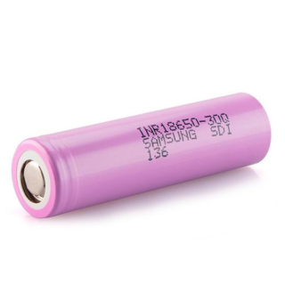 Samsung 30Q 18650 3000mAh 15A Flat Top Battery