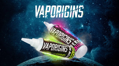 80ml Vaporigins E Liquid Shortfill 90vg/10pg (Includes 1 Nic Shot)