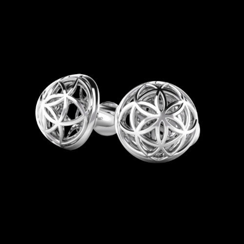 Flower Dome Cufflinks