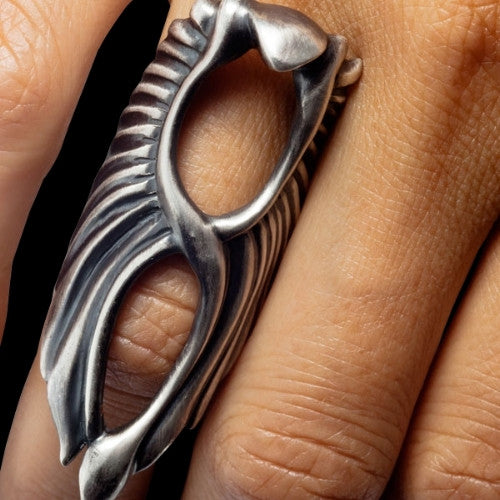 Wings of Isis Phoenix Ring